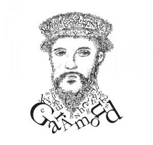 Portrait typographique de Claude Garamont.