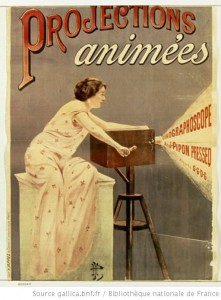 Affiche - Projections animées Cinégraphoscope
